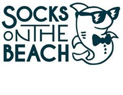 SOCKS ON THE BEACH
