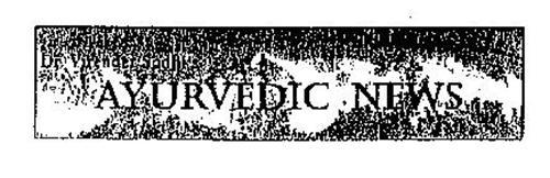 DR. VIRENDER SODHI'S AYURVEDIC NEWS