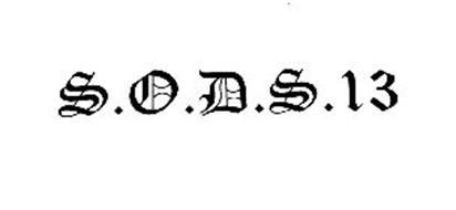 S.O.D.S.13
