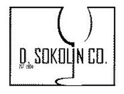 D. SOKOLIN CO. EST. 1934