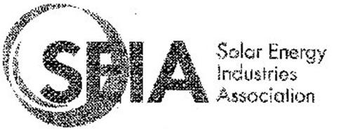 SEIA SOLAR ENERGY INDUSTRIES ASSOCIATION