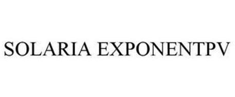 SOLARIA EXPONENTPV