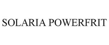 SOLARIA POWERFRIT