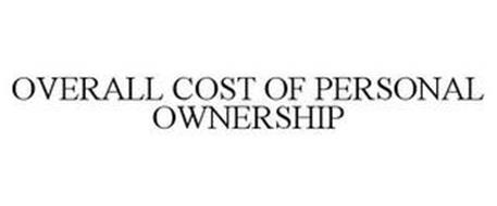 OVERALL COST OF PERSONAL OWNERSHIP