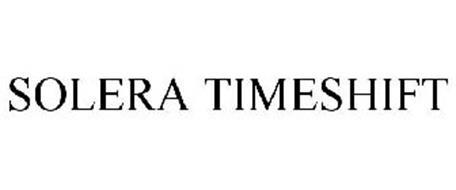 SOLERA TIMESHIFT
