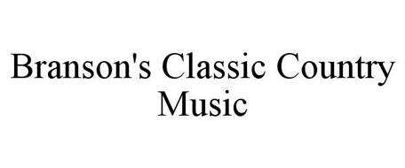 BRANSON'S CLASSIC COUNTRY MUSIC