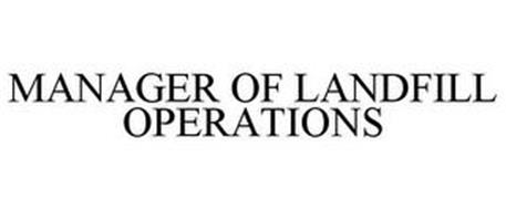 MANAGER OF LANDFILL OPERATIONS