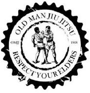 OLD MAN JIU JITSU OMJJ RESPECT YOUR ELDERS 1968