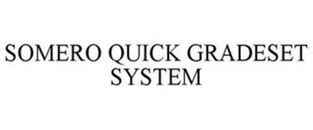 SOMERO QUICK GRADESET SYSTEM