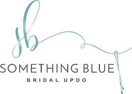 SB SOMETHING BLUE BRIDAL UPDO
