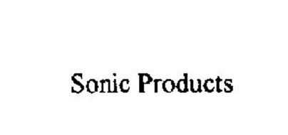 SONIC PRODUCTS