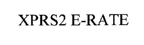 XPRS2 E-RATE