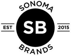 SONOMA BRANDS SB EST 2015