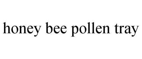 HONEY BEE POLLEN TRAY