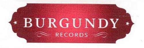 BURGUNDY RECORDS