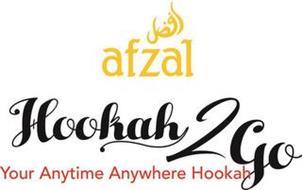 AFZAL HOOKAH 2 GO YOUR ANYTIME ANYWHEREHOOKAH