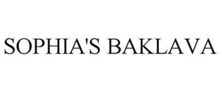 SOPHIA'S BAKLAVA