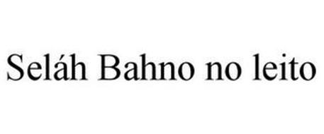 SELÁH BAHNO NO LEITO