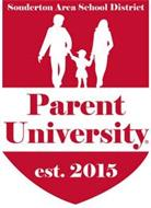 SOUDERTON AREA SCHOOL DISTRICT PARENT UNIVERSITY EST. 2015