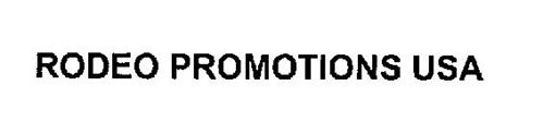 RODEO PROMOTIONS USA