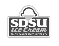 SDSU ICE CREAM SOUTH DAKOTA STATE UNIVERSITY