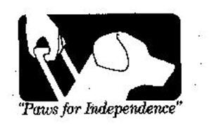 """PAWS FOR INDEPENDENCE"""