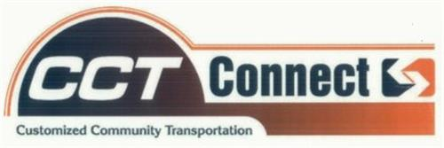 Cct Connect Customized Community Transportation Trademark