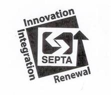 SEPTA INNOVATION INTEGRATION RENEWAL
