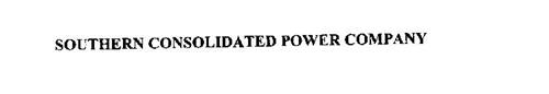 SOUTHERN CONSOLIDATED POWER COMPANY