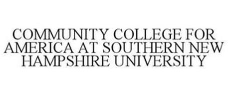 COMMUNITY COLLEGE FOR AMERICA AT SOUTHERN NEW HAMPSHIRE UNIVERSITY