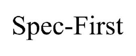 SPEC-FIRST
