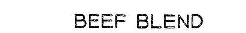 BEEF BLEND