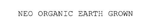 NEO ORGANIC EARTH GROWN