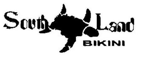 South Land Bikini Trademark Of Southlandbikini Serial Number 85094584 Trademarkia Trademarks