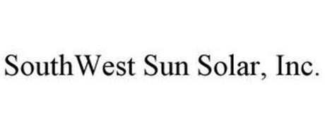 SOUTHWEST SUN SOLAR, INC.
