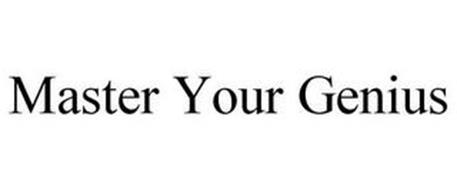 MASTER YOUR GENIUS