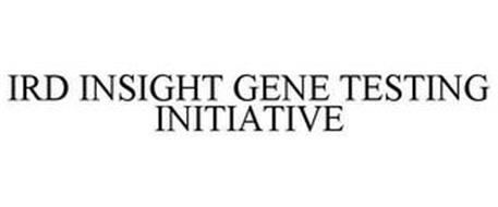 IRD INSIGHT GENE TESTING INITIATIVE