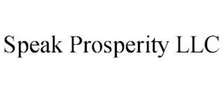 SPEAK PROSPERITY LLC