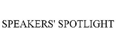 SPEAKERS' SPOTLIGHT