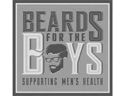 BEARDS FOR THE BOYS SUPPORTING MEN'S HEALTH