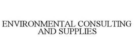 ENVIRONMENTAL CONSULTING AND SUPPLIES