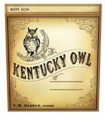 ESTD. 1879 KENTUCKY OWL C.M. DEDMAN, FOUNDER
