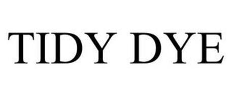 TIDY DYE