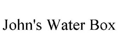 JOHN'S WATER BOX