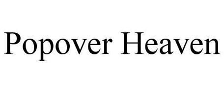 POPOVER HEAVEN