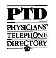 PTD PHYSICIANS' TELEPHONE DIRECTORY