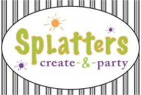 SPLATTERS CREATE-&-PARTY