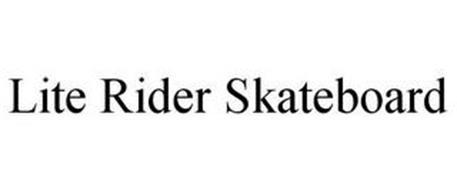LITE RIDER SKATEBOARD