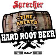 sprecher fire brewed hard root beer flavored malt beverage