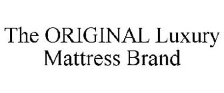 THE ORIGINAL LUXURY MATTRESS BRAND